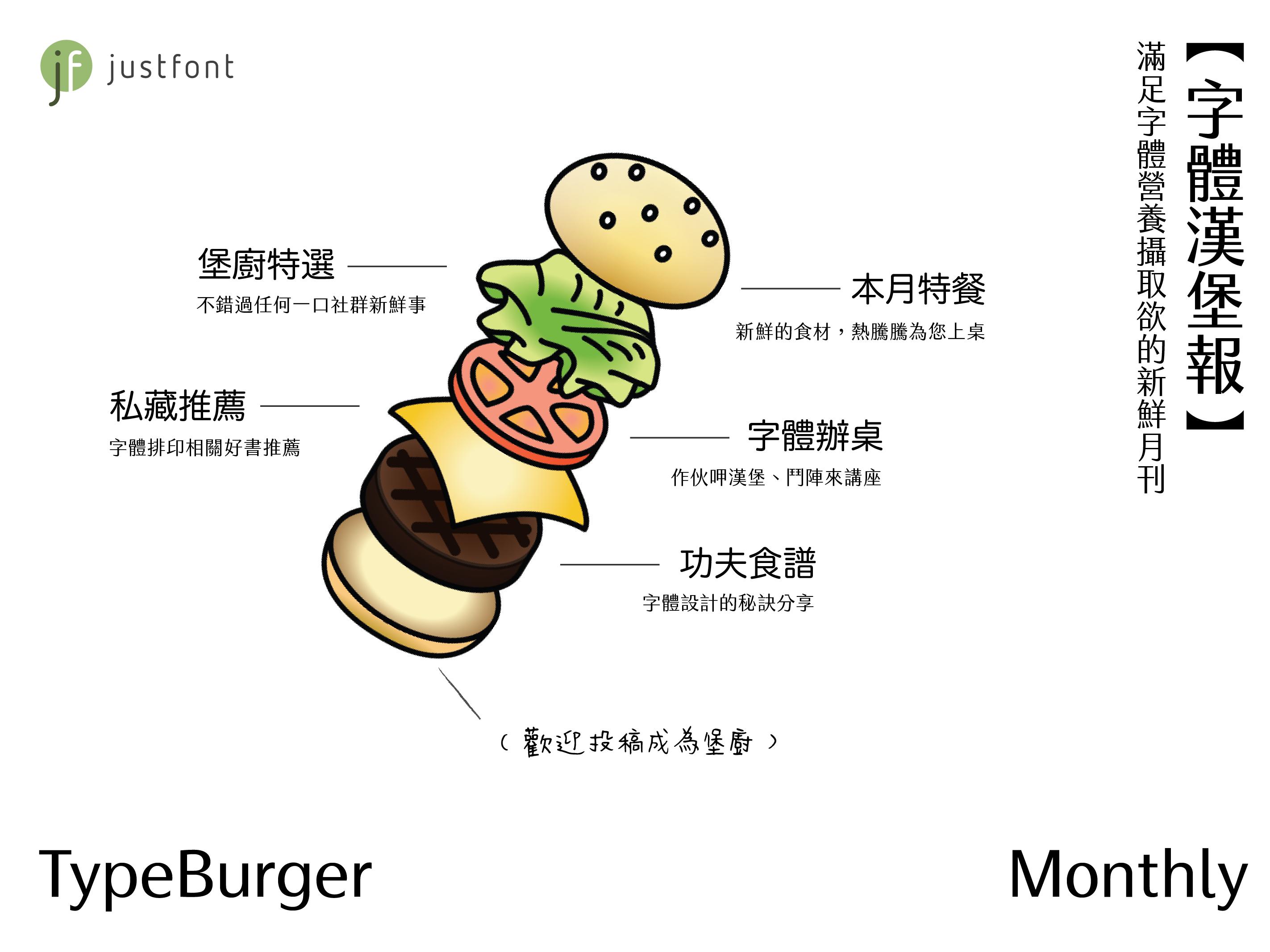 justfont's typeburger