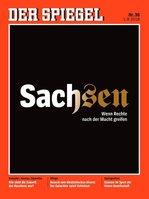 德國《明鏡週刊》36期封面